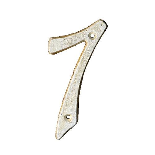 IRON NUMBER 7  IVORY