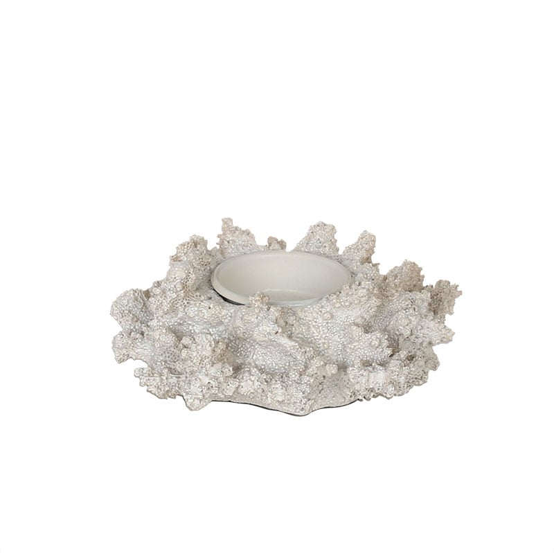 CORAL CANDLE HOLDER