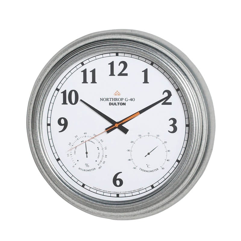 WALL CLOCK ''NORTHROP G-40'' WD