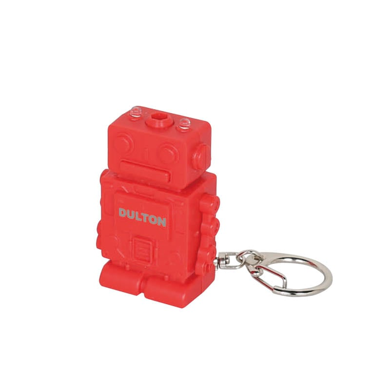 TOOL KEY CHAIN ''ROBOT'' RED