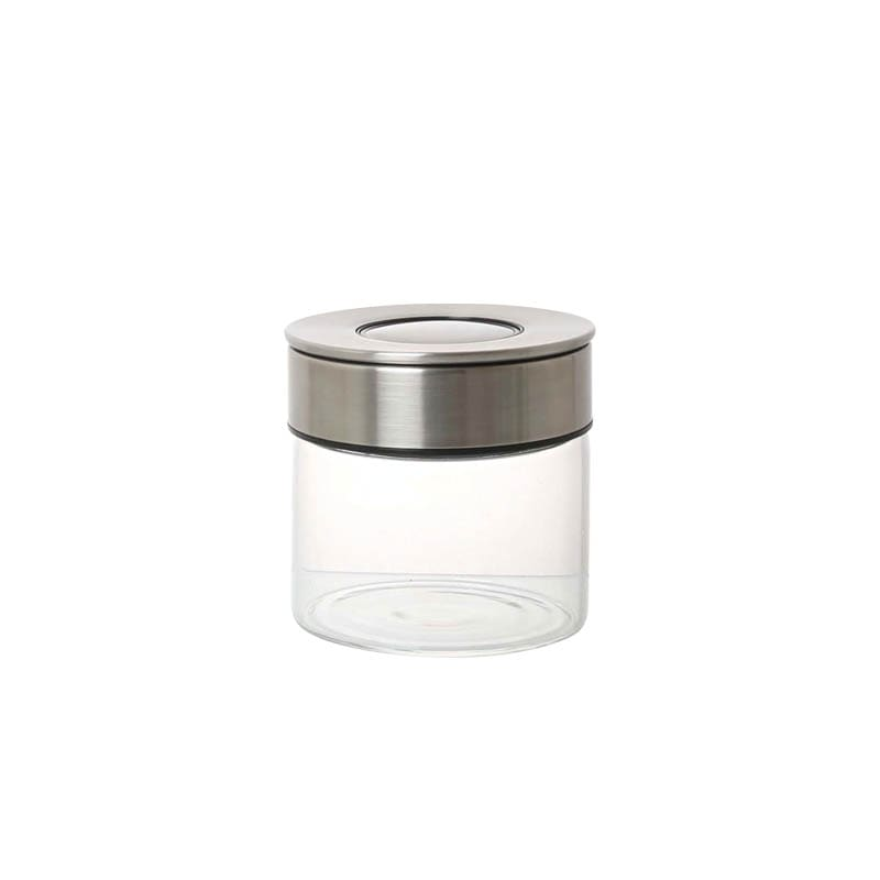 CYLINDER JAR WITH PRESS LID S