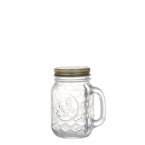 ROOSTER JAR WITH HANDLE 400ml