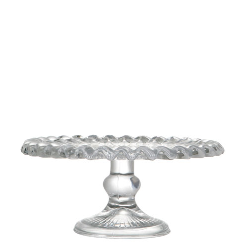 CAKE STAND PLEATS PLATE
