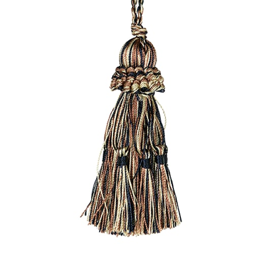 TASSEL  BROWN/GOLD