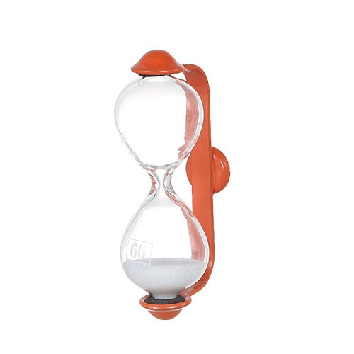 SANDGLASS  BARMA  1min ORANGE/WT SAND