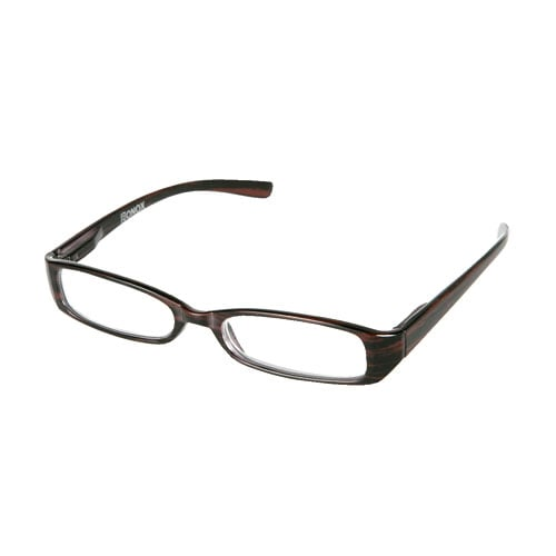 READING GLASSES  BROWN  2.0