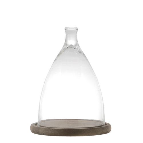 GLASS CLOCHE M