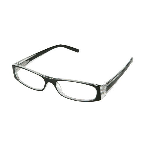 READING GLASSES BK/CL 1.0