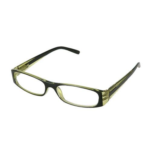 READING GLASSES BK/GN 1.0