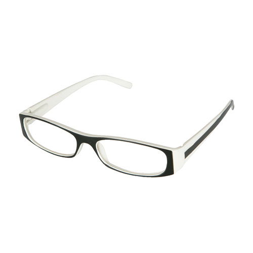 READING GLASSES BK/OW 1.0