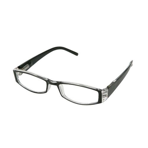 READING GLASSES  BK/CLEAR 3.0