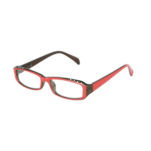 READING GLASSES RED