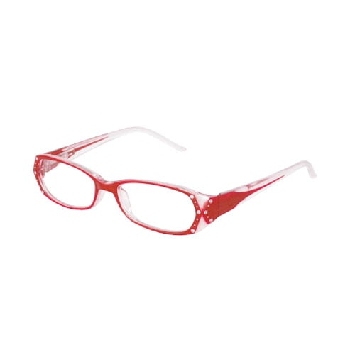 READING GLASSES RED 2.5