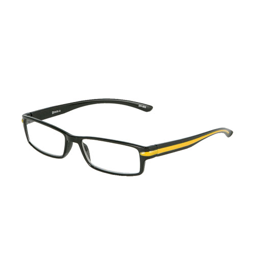 READING GLASSES BLACK 2.5