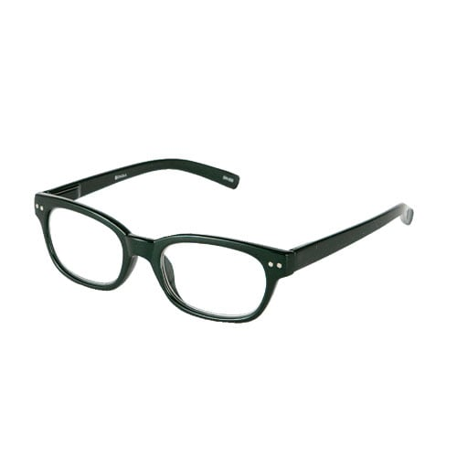 READING GLASSES D.GRN 2.5