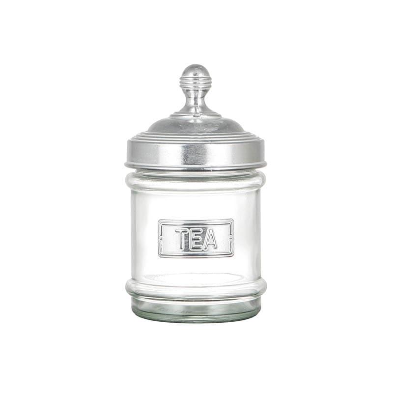 GLASS CANISTER TEA