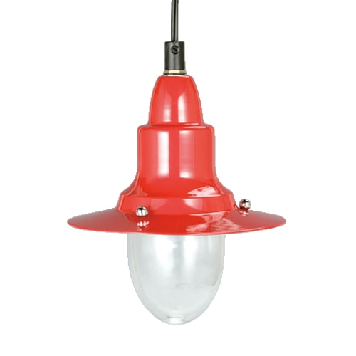 PENDANT LAMP RED