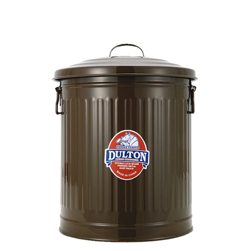 GARBAGE CAN BROWN-S