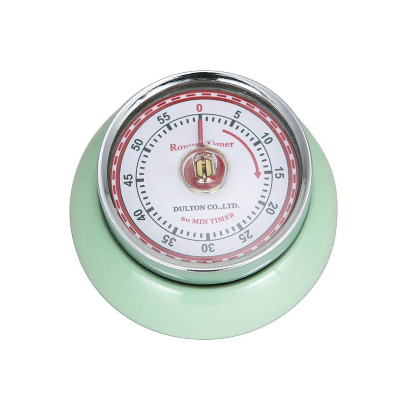 KITCHEN TIMER WITH MAGNET M.GREEN