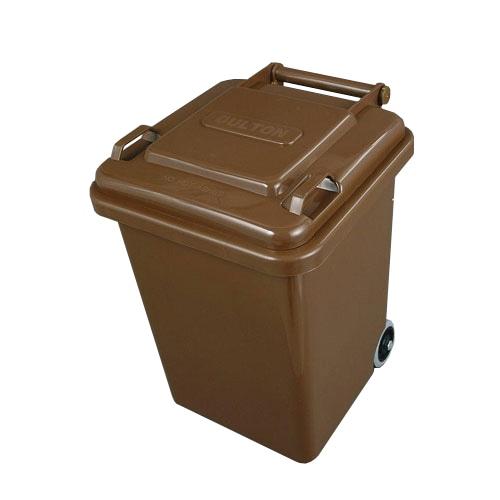PLASTIC TRASH CAN 18L BROWN