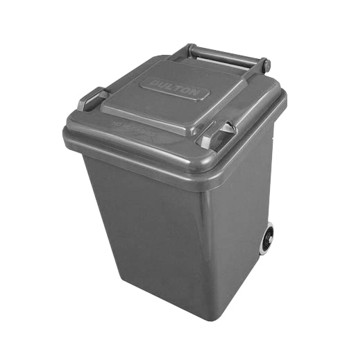 PLASTIC TRASH CAN 18L GRAY