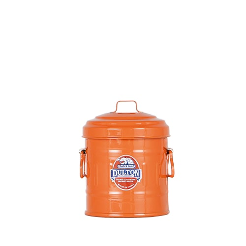 MICRO GARBAGE CAN ORANGE