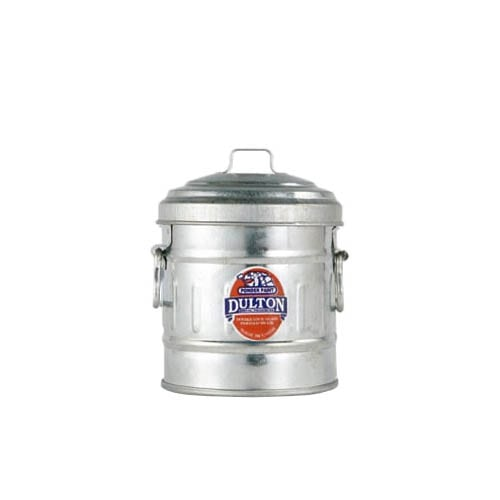MICRO GARBAGE CAN GALVANIZED