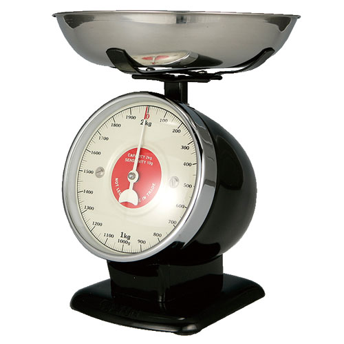 STREAM LINE KITCHEN SCALE BLACK