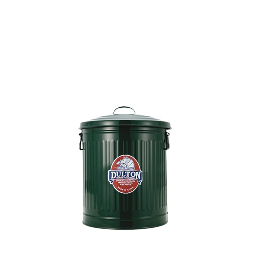 MINI GARBAGE CAN GREEN-M