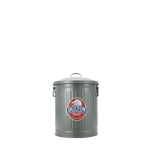 MINI GARBAGE CAN GRAY-S