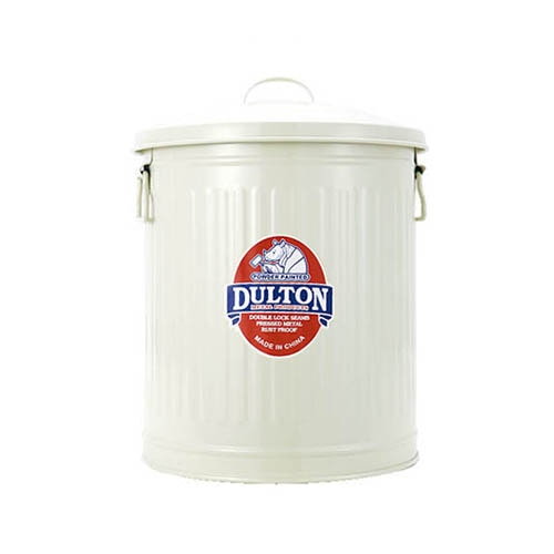 MINI GARBAGE CAN IVORY-M