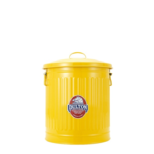 MINI GARBAGE CAN YELLOW-L