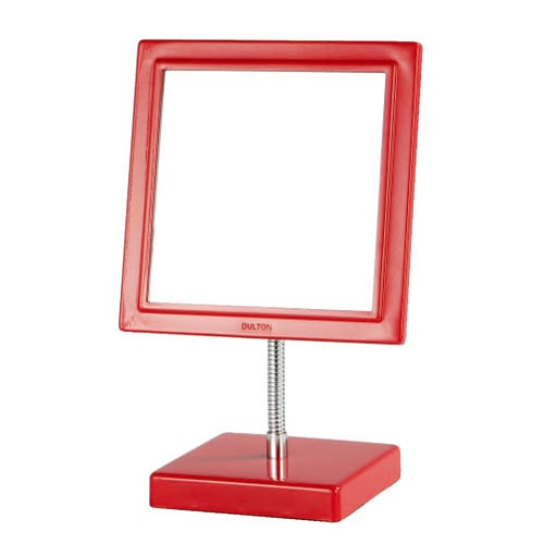SQUARE MIRROR RED