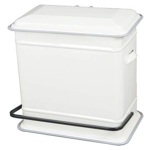 STEP CAN DUAL BUCKET IVORY