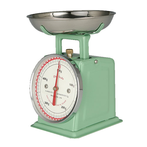 DIET SCALE MINT GREEN