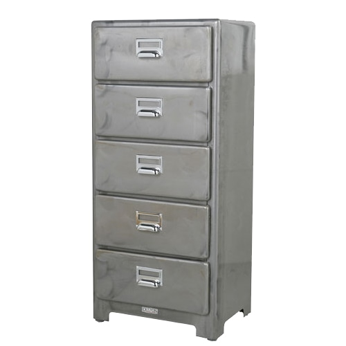 5 DRAWERS CHEST RAW