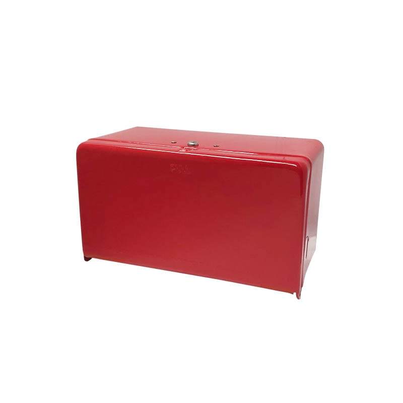 TISSUE DISPENSER RED