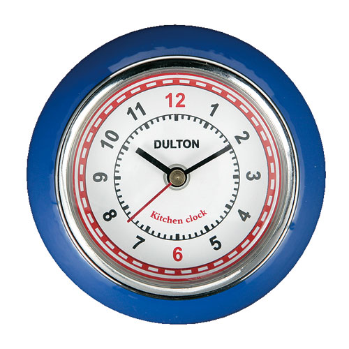 KITCHEN CLOCK BLUE