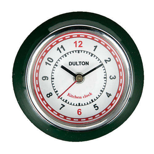 KITCHEN CLOCK D.GREEN