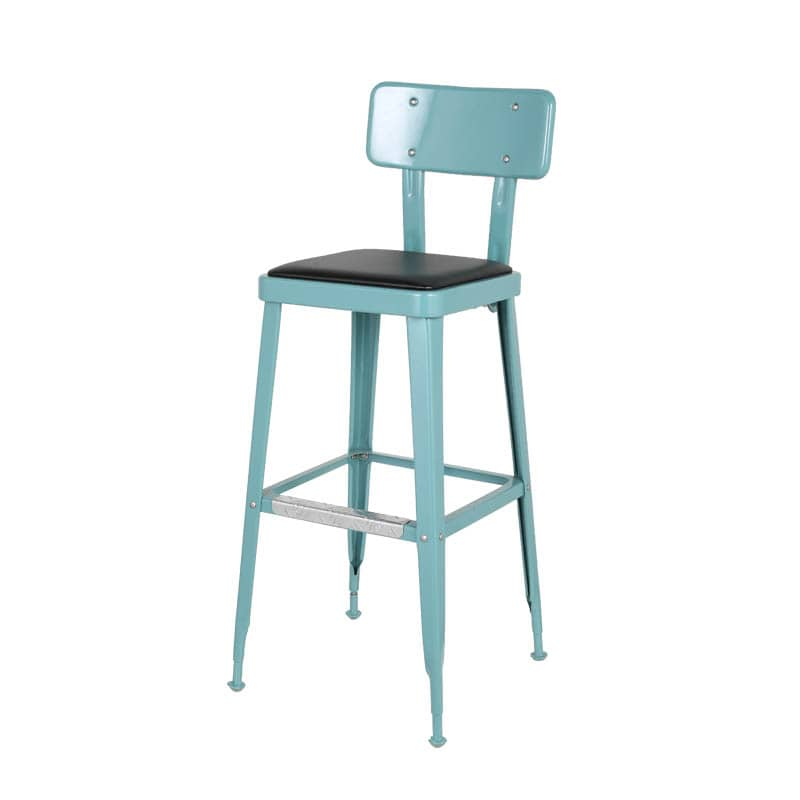 STANDARD BAR CHAIR GRAY GREEN