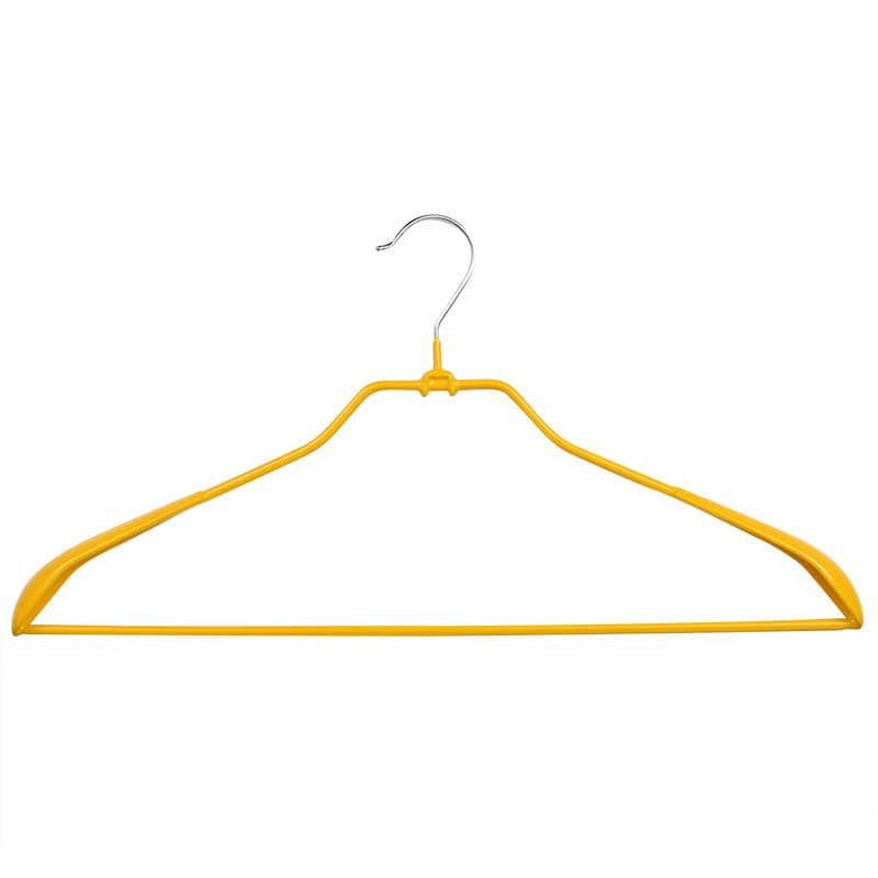 VINYL COATED HANGER YELLOW