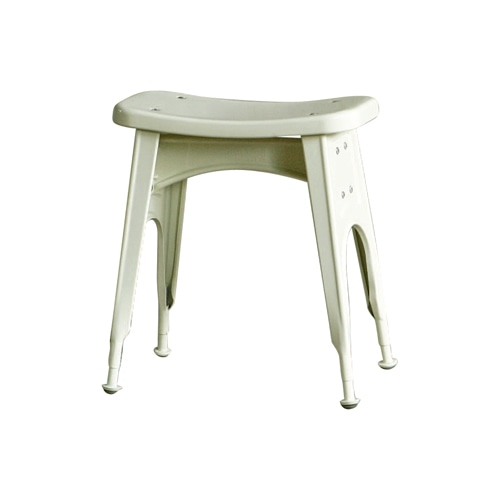 KITCHEN STOOL  IVORY