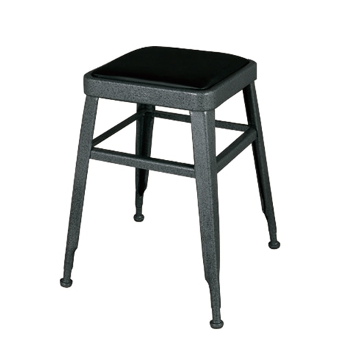 LIGHT-45 STOOL  HAMMERTONE GRAY