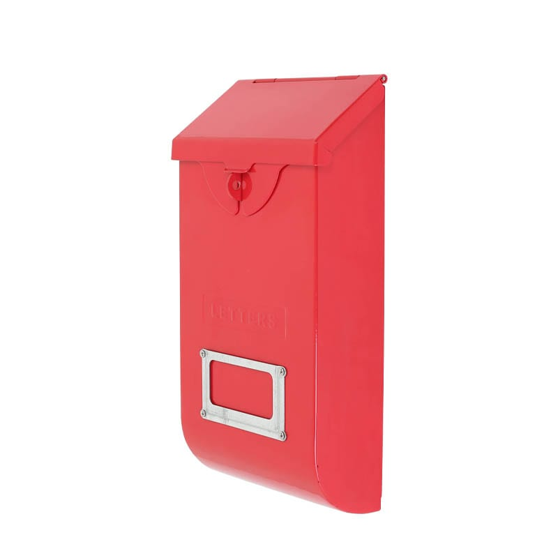 MAIL STORAGE BOX RED