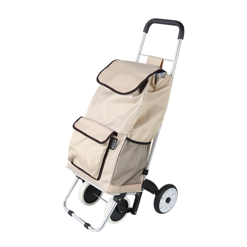 SHOPPING CART ''BUDDY'' BEIGE