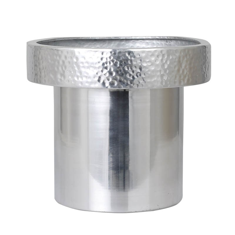 METAL POT COVER L SLV