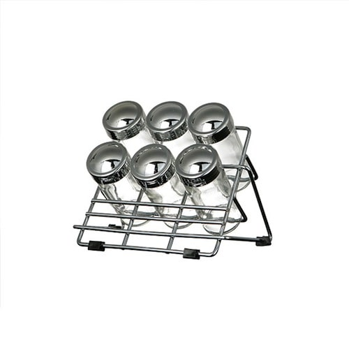 6 BOTTLE SPICE RACK