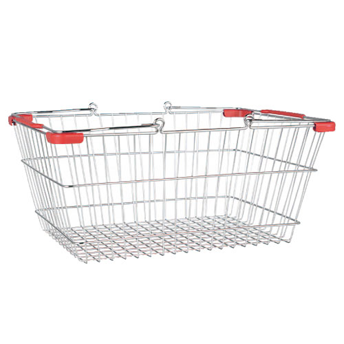 MARKET BASKET-S (CHROME/RED)