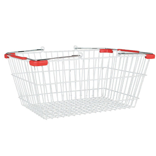 MARKET BASKET-L (WHITE/RED)