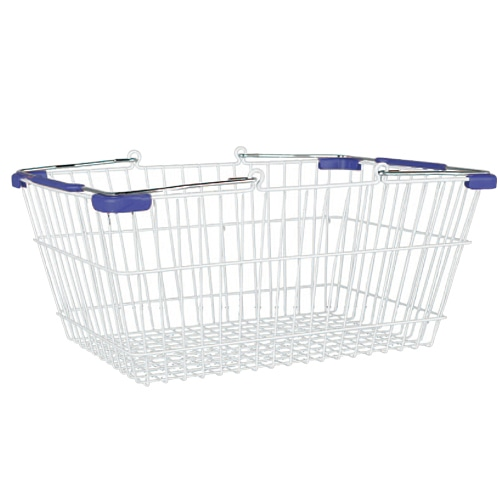 MARKET BASKET-S (WHITE/BLUE)